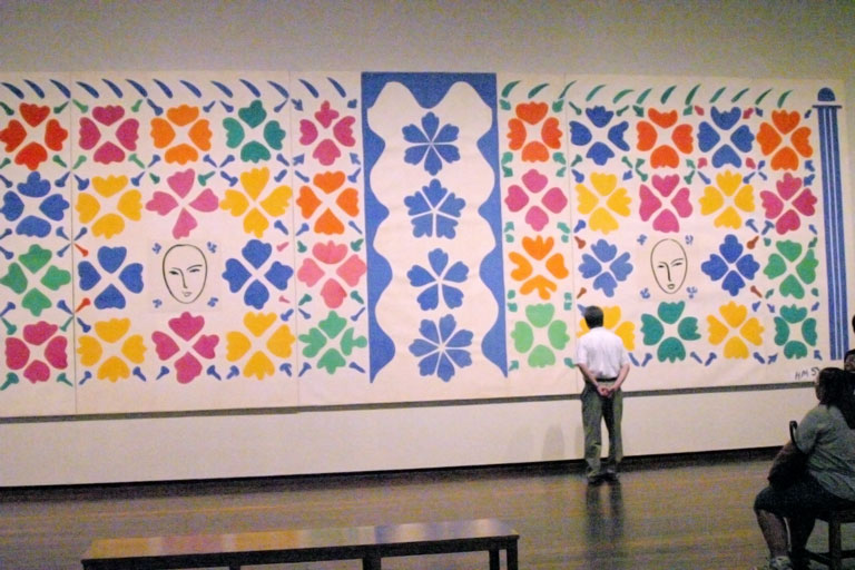 Henri Matisse, The Cut-Outs at the National Gallery of Art, installation view