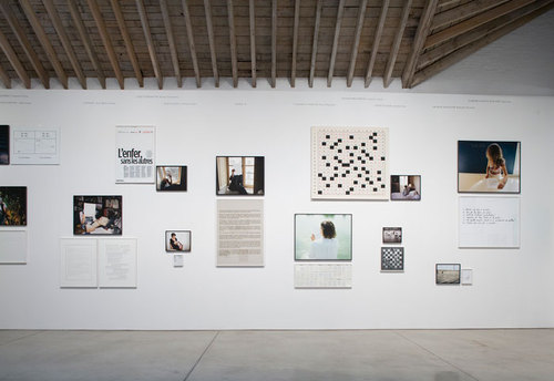 Sophie Calle, Take Care of Yourself (installation view, photo by Seth Erickson), 2007