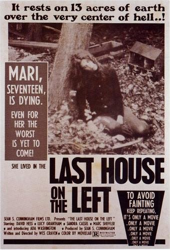 Last House on the Left, released August 1972