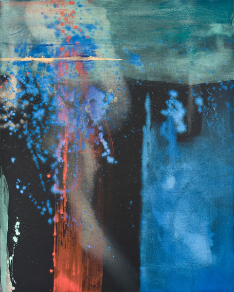 Makoto Fujimara, Soliloquies-Morning, 2009, mineral pigment on portrait linen, 60x48 inches